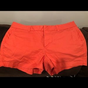 Gap Shorts: Burnt Orange, Khaki style. 3 inch